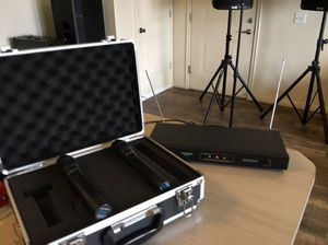 2 Wireless mic for Sale in Salt Lake City, UT