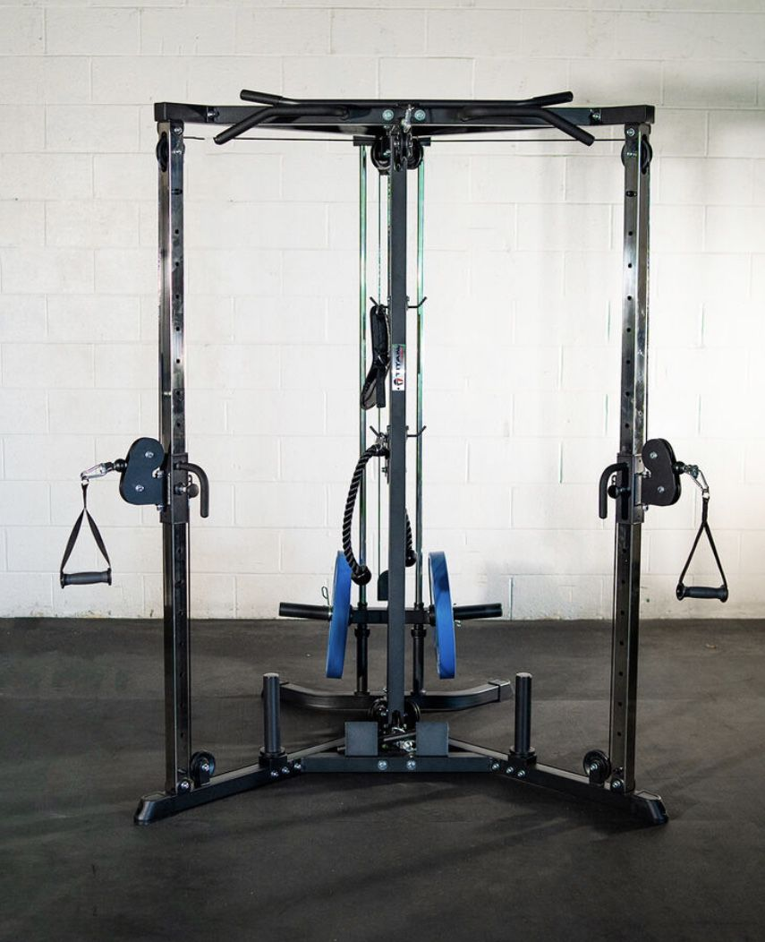 Home Gym Cable Crossover
