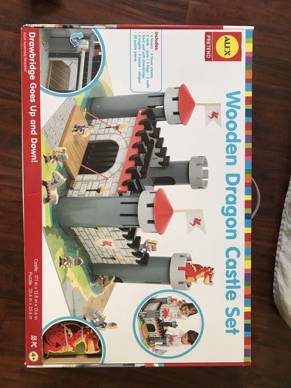 Alex Wooden Dragon Castle Set For Sale In San Clemente Ca Offerup
