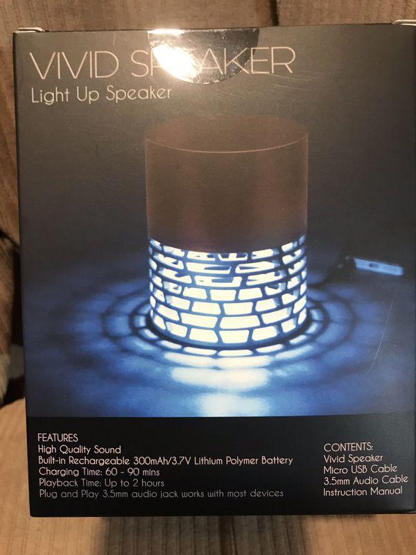Soundlogic Light Up Speaker Manual
