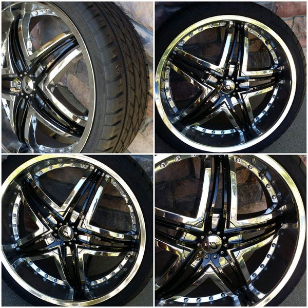 """22"""" Rims Selling 22 Inch X 8.5 For Ford Taurus 2010 Up. Or"""