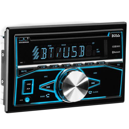 Boss double din radio with Bluetooth for $73 Brand new in the box with warranty