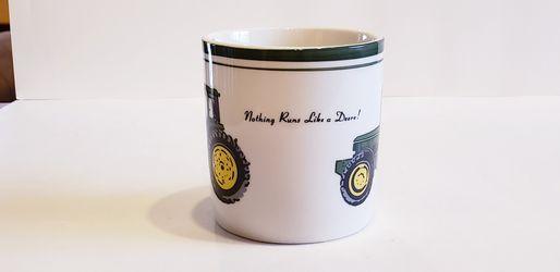 Collectible John Deere Tractor Coffee Mug Farming Thumbnail