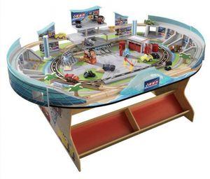 KidKraft Disney Pixar Cars 3 Speedway Train Table Track for Sale in Alexandria, VA
