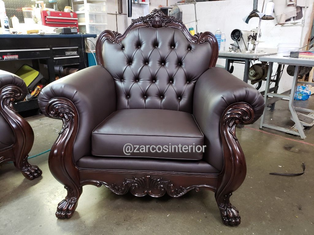 REUPHOLSTERING AND UPHOLSTERY FURNITURE