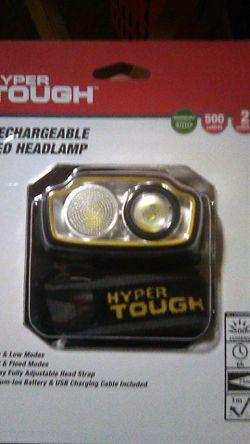 Hyper tough rechargable head lamp Thumbnail