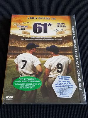 61* A BILLY CRYSTAL 2001 FILM Mickey Mantle & Roger Maris for Sale in Las Vegas, NV
