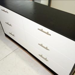NEW DRESSER CHEST AND 2 NIGHTSTANDS. MIRROR NOT INCLUDED. ALSO SOLD SEPARATELY  Thumbnail