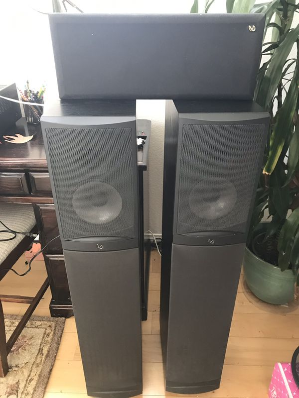 Infinity- RS-8 tower speakers with powered sub for Sale in San Diego, CA -  OfferUp