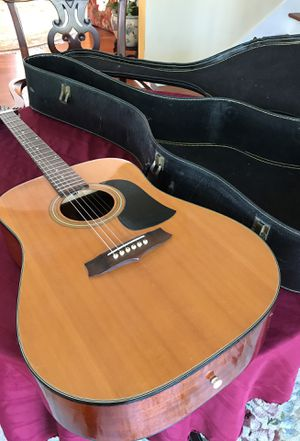Aria Heritage series model LM-5 acoustic would guitar in black case for Sale in West Palm Beach, FL