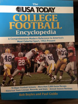College Football Encyclopedia for Sale in Martinsburg, WV