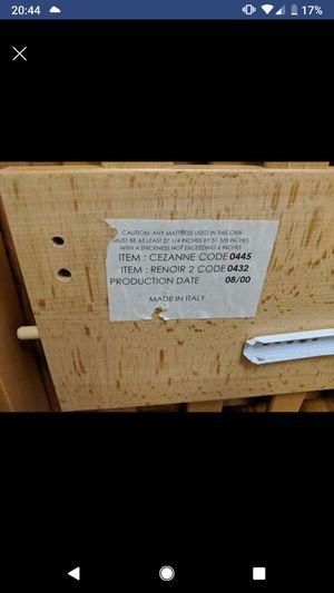 Italian Pali Cezzane Renoir 2 Baby Crib for Sale in Washington, DC