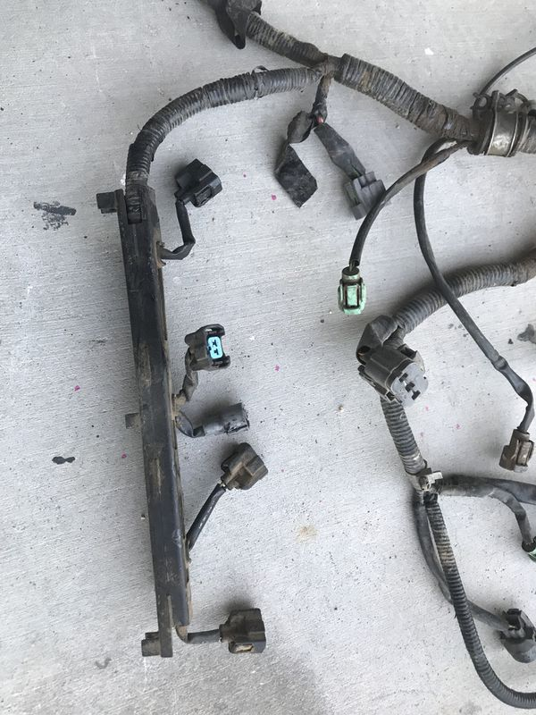 honda 99 prelude h22 engine harness uncut