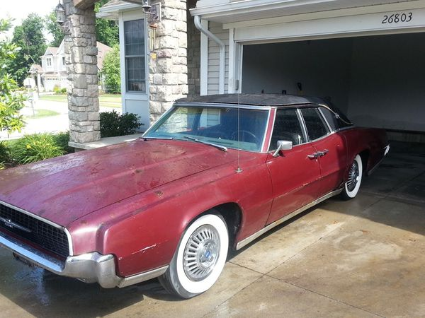 1967 Ford Thunderbird 80k Kissing door, 390 V8 for Sale in Cleveland, OH -  OfferUp