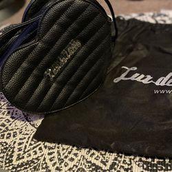Lux de Ville crossbody Heart purse Rockabilly Thumbnail