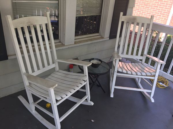 2 rocking chairs table for sale in east point ga offerup