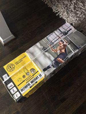 Olympic Weight Set BNIB for Sale in Dallas, TX