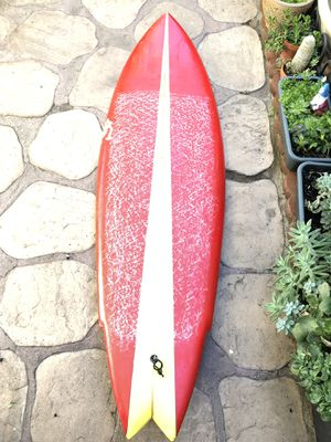 5'7 fish surfboard for Sale in Long Beach, CA