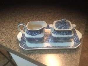 Enoch wedge wood sugar creamer and tray set for Sale in Apex, NC