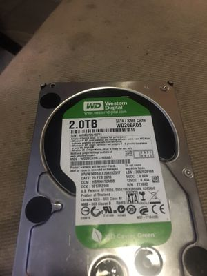2 TB hardrive for pc for Sale in Boston, MA
