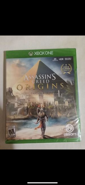 Assassins creed origins for Xbox one for Sale in Fairfax, VA