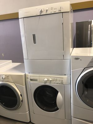 Kenmore front load washer and dryer electric stack able with warranty for Sale in Woodbridge, VA