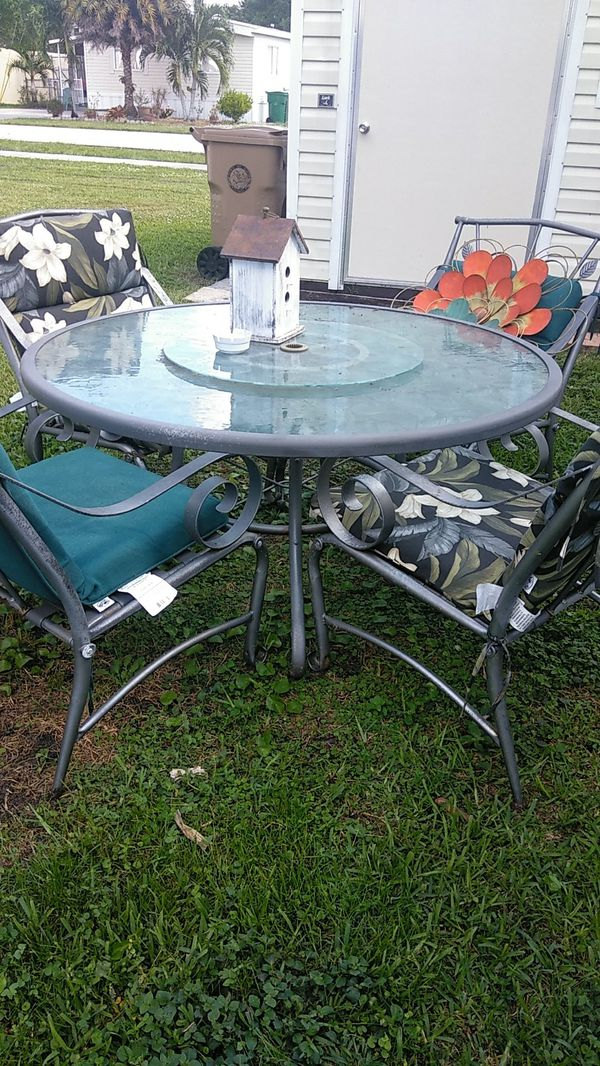 Patio Table And Chairs For Sale In Davie Fl Offerup