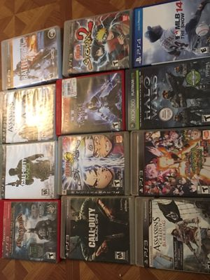 Game for PS3 PS4 And XBOX ONE for sale for Sale in Union, NJ