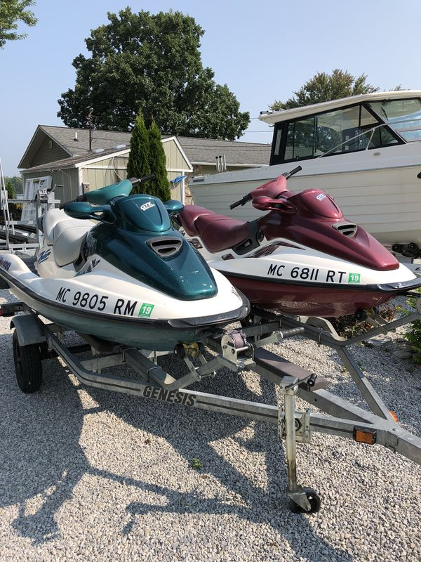 1997 gtx and 1998 gtx limited edition - with trailer!