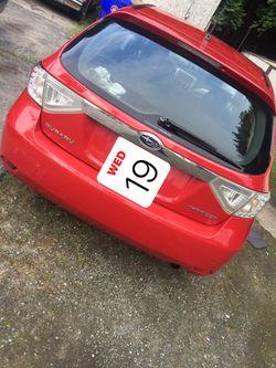2009 Subaru Impreza Thumbnail