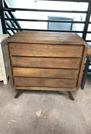 """Mid century modern raise table with drawers - 27 1/2"""" x 15"""" x 27 1/2"""" for Sale in Miami, FL"""