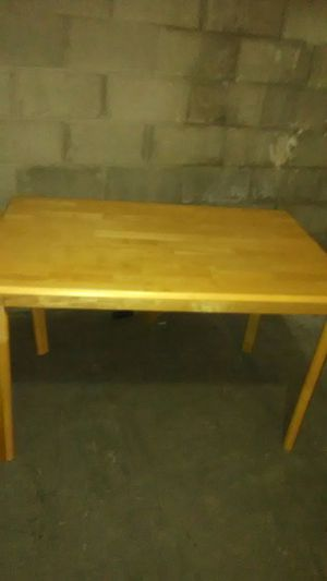 Wooden table for Sale in Pittsburgh, PA