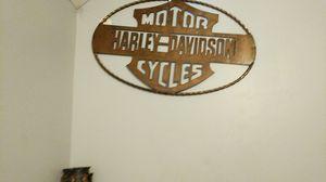 Metal Harley-Davidson sign for Sale in Eldersburg, MD