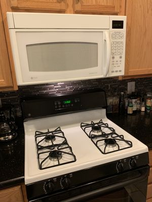 GE Profile Microwave - Over the Range - White for Sale in Fairfax, VA