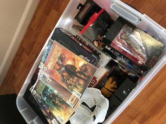 NOT FREE. Read description Star Wars collectibles. serious inquires message me for items and pricing Thumbnail