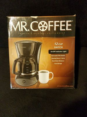 Mr Coffee 12 cup coffee maker for Sale in Chicago, IL