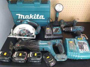 Photo 100% working Makita power tools combo