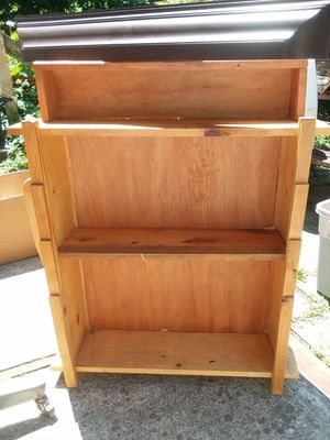 Pine Bookcase for Sale in Lynchburg, VA