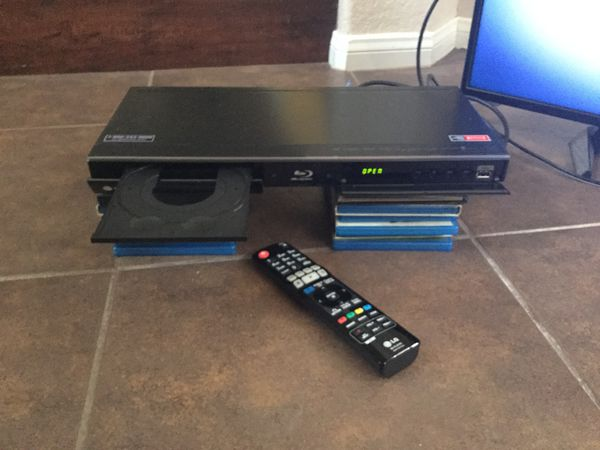 LG SMART BLU RAY PLAYER w/ ASSORTED DVD & HDMI CABLE & REMOTE for Sale in  Las Vegas, NV - OfferUp