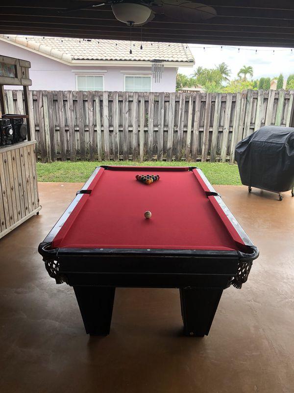 Brunswick Monarch Pool Table For Sale In Miami FL OfferUp - Brunswick monarch pool table
