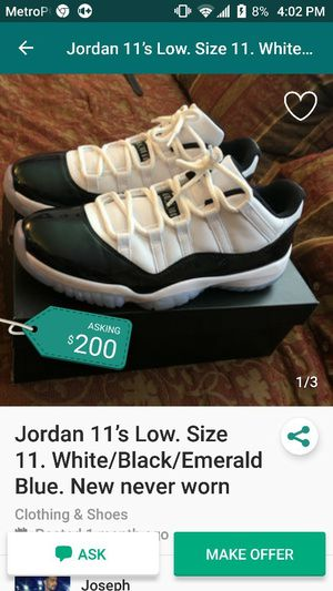 Jordan 11 size 8.5 for Sale in Washington, DC