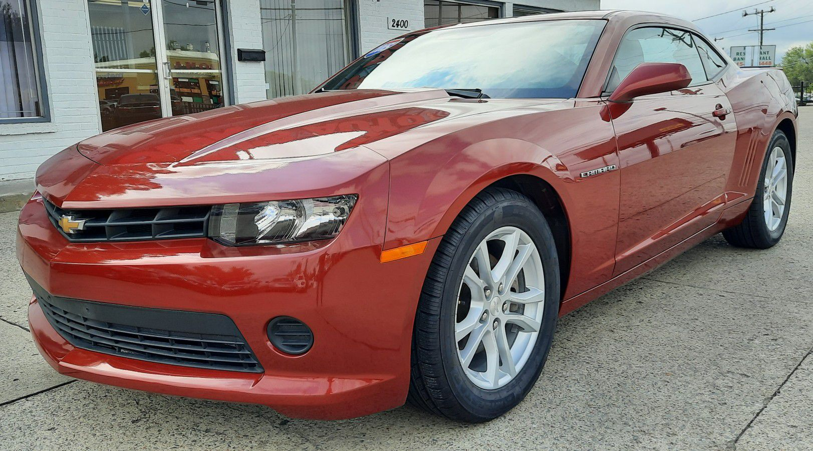 $3,900 DOWN PAYMENT 2015 CHEVROLET CAMARO V6