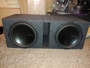Photo 12 Rockford Fosgate t1d412 Subwoofers with vent port box