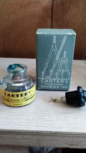Antique Carter's Ink Bottle with Box for Sale in Las Vegas, NV