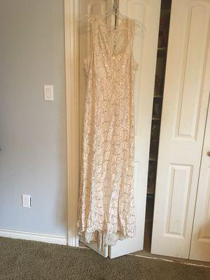 Dress size L gold for Sale in Dallas, TX