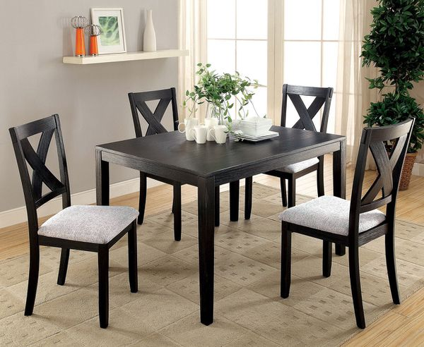 Glenham Transitional 5PC Dining Room Table Set CM3175T 5PK San Antonio TX