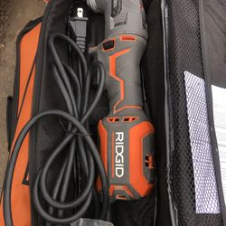 RIDGID 4 Amp Corded JobMax Multi-Tool with Tool-Free Head Thumbnail