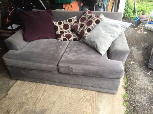 66 Inch Couch And 50 Inch Chair In Good Condition For Sale In