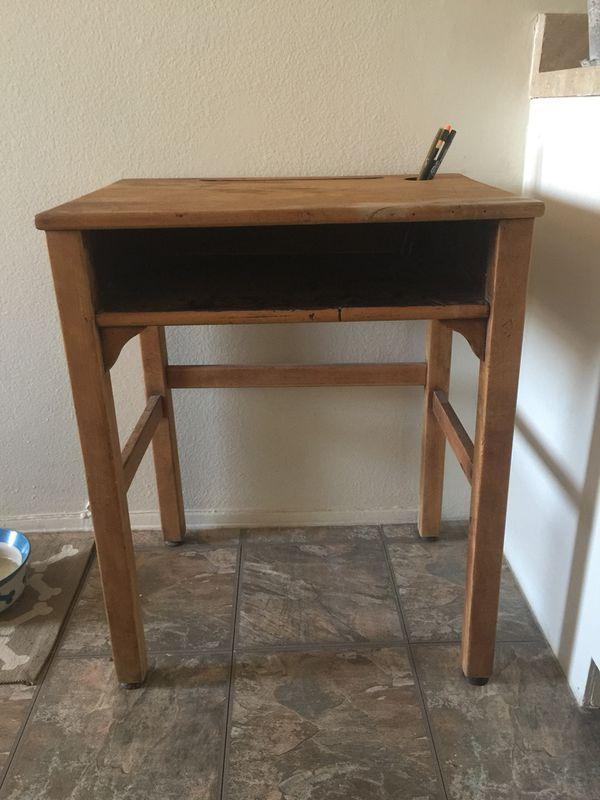 Vintage Kids Children School Desk For In Santa Fe Springs Ca Offerup