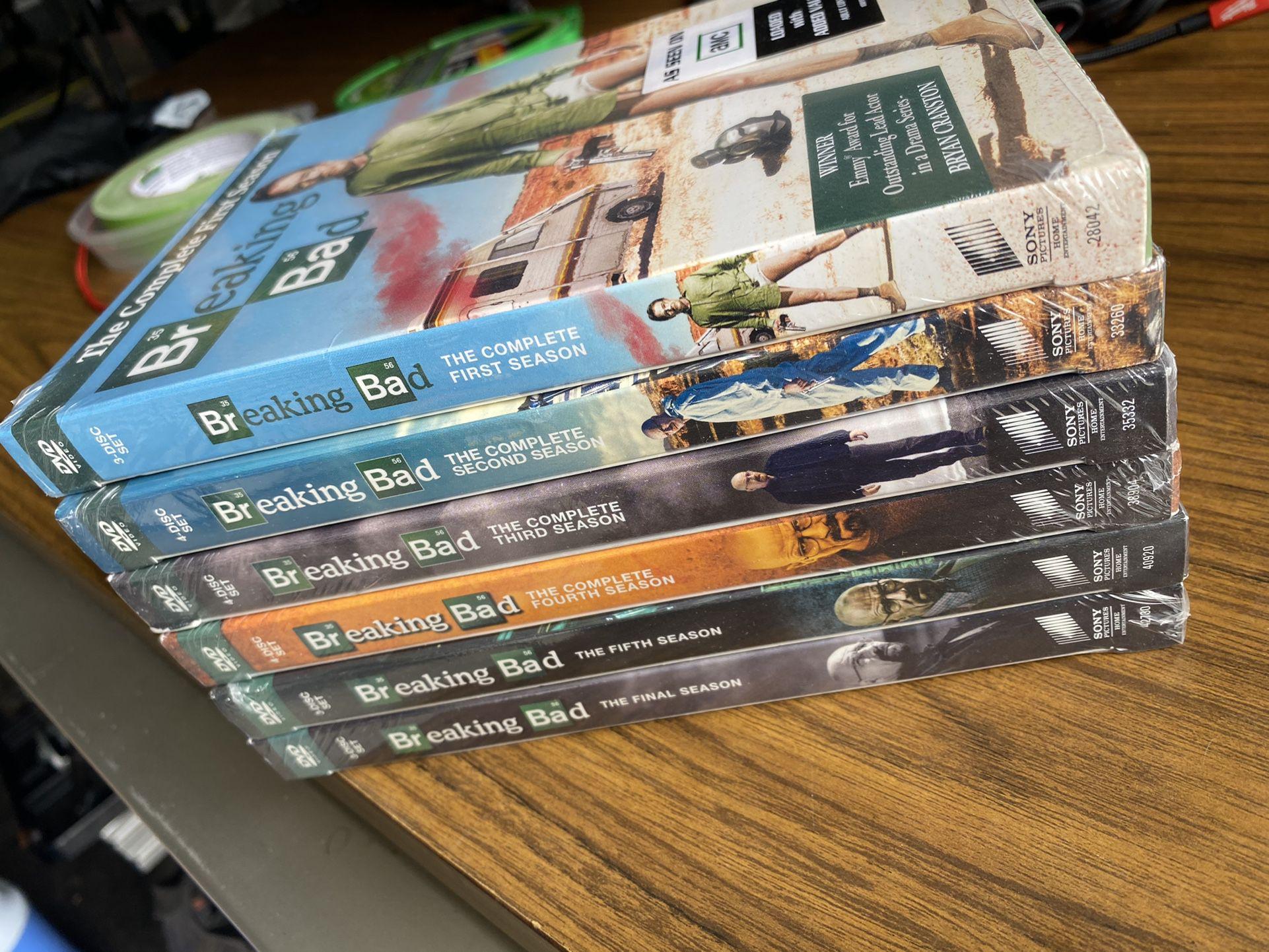 "Breaking Bad The Complete Season ""DVD"""